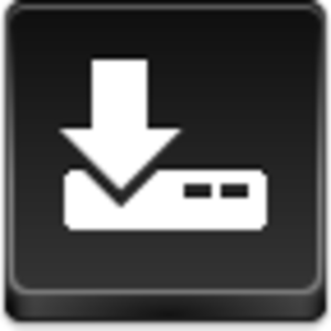 Free Black Button Download Image
