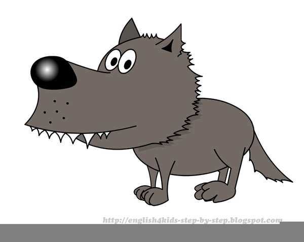 free big bad wolf clipart free images at clker com vector clip rh clker com big bad wolf clipart black and white Cute Big Bad Wolf Clip Art