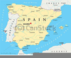 Map Clipart Of Spain Image