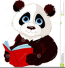 Clipart Animal Reading Image