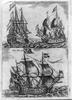 Ships Sailing Ocean Image