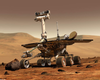 Mars Rover Explores The Red Planet Image