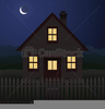 Animated Haunted House Clipart Image