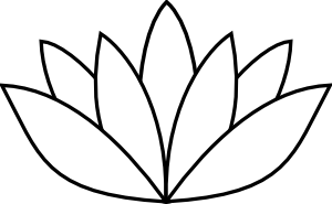 White Lotus Flower Image
