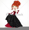 Ball Gown Clipart Image