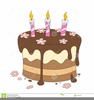 Clipart Birthday Cake No Candles Image