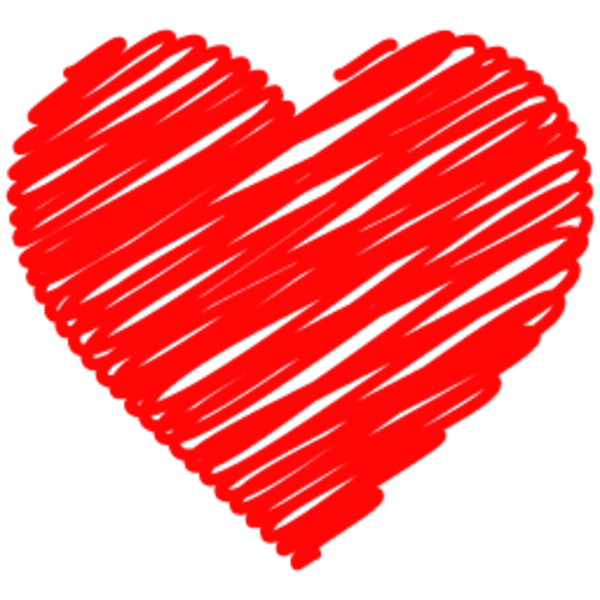 Doodle Heart 256 | Free Images at Clker.com - vector clip ...