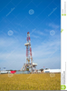 Land Drilling Rig Clipart Image