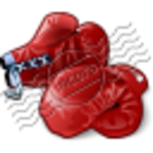 Boxing Gloves Red Image