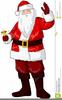 Animated Santa Claus Clipart Image