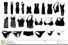 Womens Clothes Clipart Image