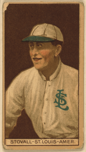 [george Stovall, St. Louis Browns, Baseball Card Portrait] Image