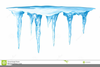 Ice Sickles Clipart Image