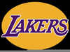 Los Angeles Lakers Clipart Image