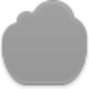 Empty Cloud Icon Image