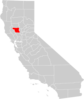 California County Map Colusa County Highlighted Clip Art