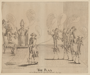 The Plan, Or A Scene In The French Cabinet, Sepr. 1779 Image