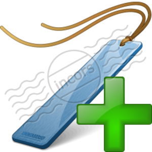 Bookmark Blue Add 4 Image