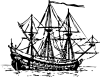 Genoese Carrack Clip Art