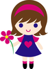 Pink Daisy Clipart Image