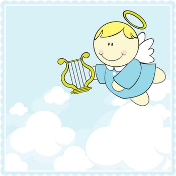 cartoon angel clipart - photo #11