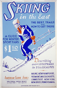 Skiing In The East The Best Trails And How To Get There : A Guide For Winter Sport Fans : Describing Over 1000 Trails In 216 Localities. Image