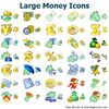 Large Money Icons Image
