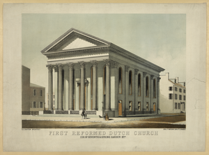 First Reformed Dutch Church, Cor. Of Seventh & Spring Garden Sts. Image