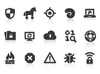0122 Internet Security Icons Xs Image
