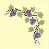 Free Clipart Borders Grape Vines Image