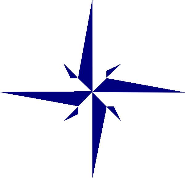 Gray Compass Star 2 Clip Art At Clker Vector Clip Art Online