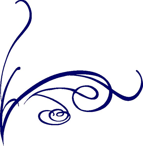 decorative swirl blue clip art at clker com vector clip art online rh clker com decorative clip art for poems decorative clip art for poems
