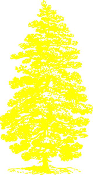 Yellow Tree Clip Art at Clker.com - vector clip art online ...