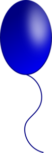 Balloon Bluepng Image