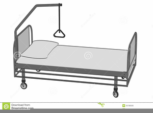 Clipart Of Hospital Beds Image