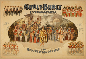 Hurly-burly Extravaganza And Refined Vaudeville Image