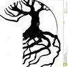 Free Clipart Tree With Roots Image