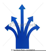 Multi Directional Arrow Clipart Image