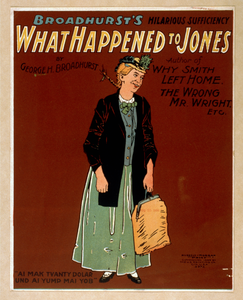 What Happened To Jones Broadhurst S Hilarious Sufficiency : By George H. Broadhurst, Author Of Why Smith Left Home, The Wrong Mr. Wright, Etc. Image