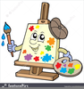 Artist Paint Brush Clipart Image