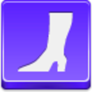 Free Violet Button High Boot Image