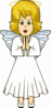 Praying Angel Clip Art