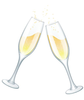 Wedding Wine Glasses Clipart Free Image