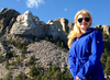 Mount Rushmore Girl Image