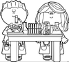 Science Notebook Clipart Image