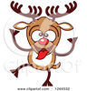 Rudolph Animated Clipart Image