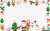 Christmas Decoration Clipart Borders Image