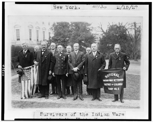 Survivers (sic) Of The Indian Wars Call The White House ... Image