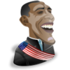 Barak Obama Icon Image