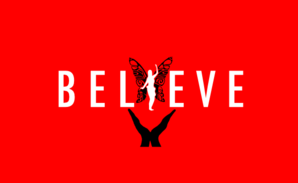 Red Believe Symbol Clip Art